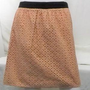 Loft Mini Eyelet Skirt